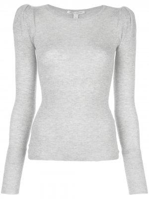Трикотажный топ Autumn Cashmere. Цвет: серый