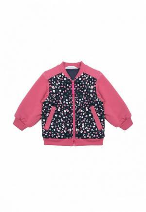 Куртка утепленная Бимоша. Цвет: разноцветный