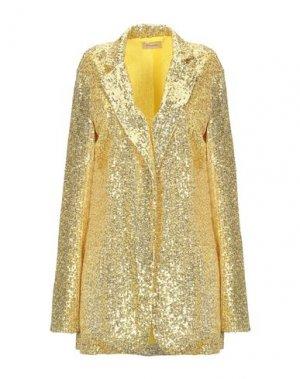 Пиджак DIXIE. Цвет: желтый