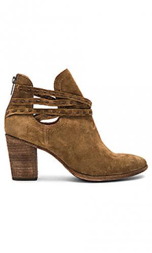 Ботинки с филейной вышивкой naomi Frye. Цвет: коричневый