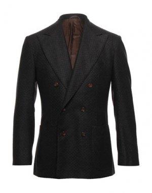 Пиджак SARTORIO. Цвет: темно-коричневый