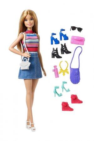 Барби и Коллекция обуви Barbie. Цвет: мультицвет, бежевый