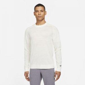 Мужской трикотажный свитер для гольфа Tiger Woods - Белый Nike