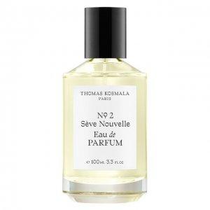 Парфюмерная вода № 2 Sève Nouvelle Thomas Kosmala. Цвет: бесцветный