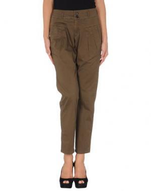 Повседневные брюки LOREAK MENDIAN. Цвет: зеленый-милитари