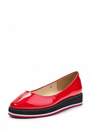 Туфли Friis & Company FR004AWHH880. Цвет: красный