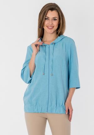 Куртка S&A Style. Цвет: голубой