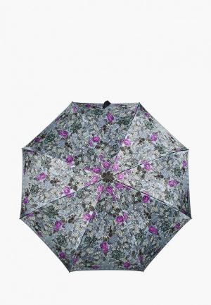 Зонт складной Henry Backer. Цвет: серый
