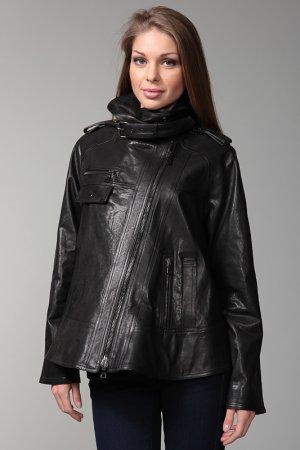 Куртка кожаная Proenza Schouler. Цвет: черный