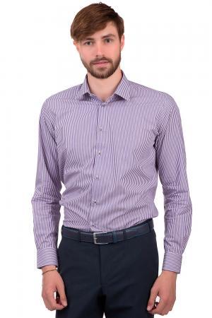 Рубашка с длинным рукавом Flavio Nava. Цвет: розовый