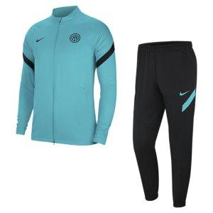 Мужской футбольный костюм Dri-FIT Inter Milan Strike - Зеленый Nike
