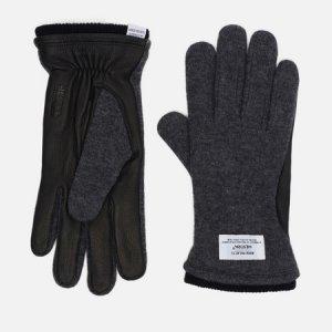 Перчатки x Hestra Svante Norse Projects. Цвет: серый