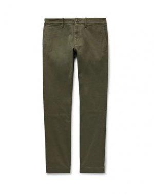 Повседневные брюки J.CREW. Цвет: зеленый-милитари