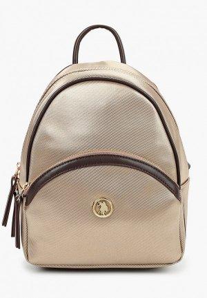 Рюкзак U.S. Polo Assn.. Цвет: золотой