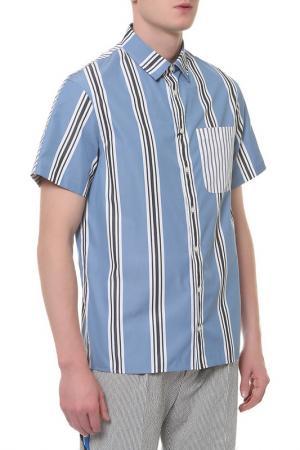 Рубашка Tommy Hilfiger. Цвет: 904 moonlight blue, multi