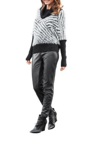 Пуловер Apart. Цвет: черный, кремовый