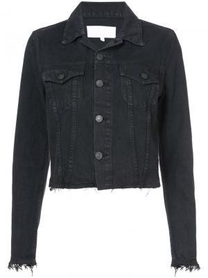 Джинсовая куртка Re/Done. Цвет: чёрный