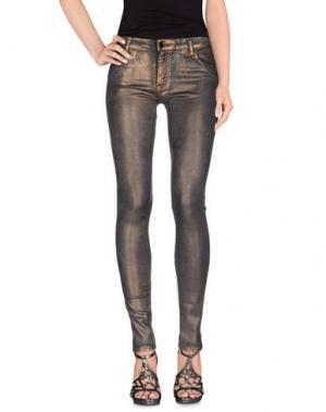Джинсовые брюки 75 FAUBOURG. Цвет: бронзовый
