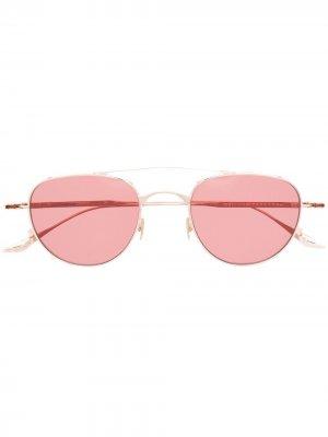 Солнцезащитные очки Harcourt Jacques Marie Mage. Цвет: розовый