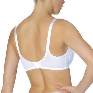 Бюстгальтер для периода грудного вскармливания, без косточек, CARESSE AU FIL DES MOIS. Цвет: белый,черный/ слоновая кость