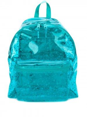 Рюкзак с эффектом разбрызганной краски Eastpak. Цвет: синий