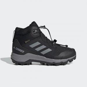 Треккинговые ботинки Terrex Gore-Tex adidas. Цвет: черный
