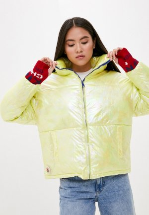 Куртка утепленная Liana. Цвет: желтый