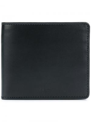 Бумажник с логотипом A.P.C.. Цвет: чёрный