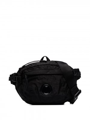 Black Lens belt bag CP Company. Цвет: черный