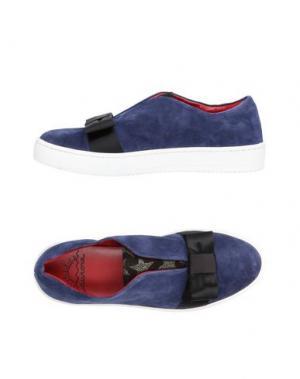 Низкие кеды и кроссовки AURORA. Цвет: темно-синий