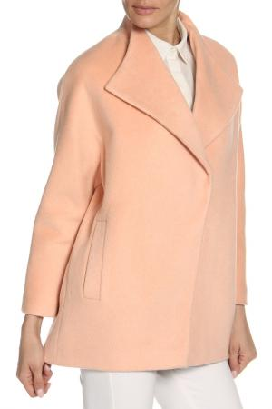 Пальто KENZ. Цвет: розовый