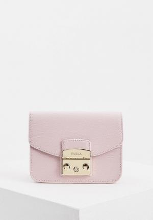 Сумка Furla METROPOLIS. Цвет: розовый