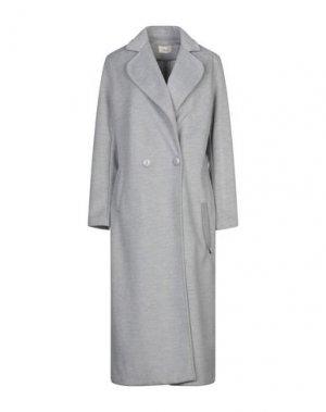 Легкое пальто TOY G.. Цвет: светло-серый