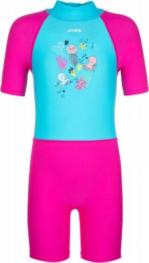 Плавательный костюм для девочек , размер 122 Joss. Цвет: розовый