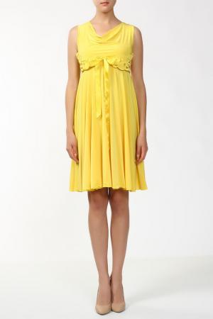 Платье Анора. Цвет: желтый