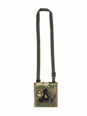 Мини-сумка Multicam Stash Palace. Цвет: зеленый