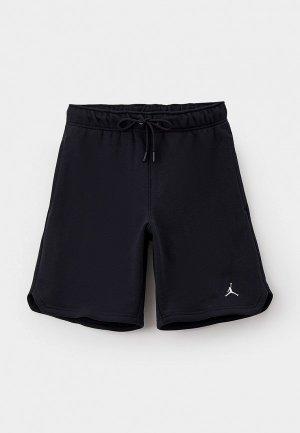 Шорты спортивные Jordan M J ESS FLC SHORT. Цвет: черный