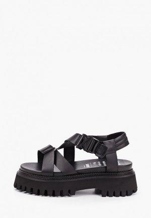 Босоножки Bronx Groovy Sandal. Цвет: черный