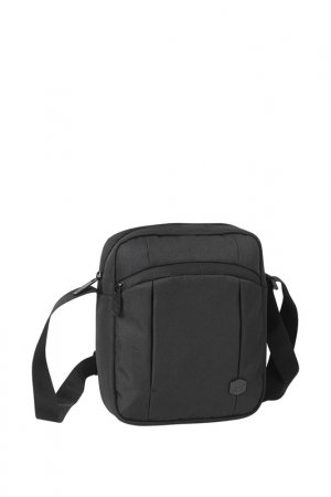 Сумка Tokyo Tablet Bag Caterpillar. Цвет: серый, черный