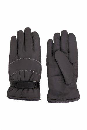Перчатки мужские Finn-Flare. Цвет: темно-серый
