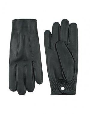 Перчатки SANDRO. Цвет: темно-зеленый
