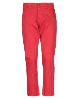 Повседневные брюки CASTELBAJAC. Цвет: красный
