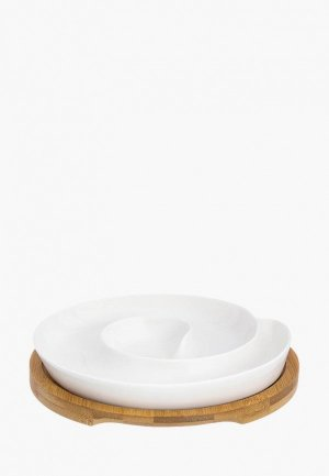 Менажница Elan Gallery. Цвет: белый