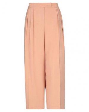 Повседневные брюки ANNARITA N. Цвет: пудровый