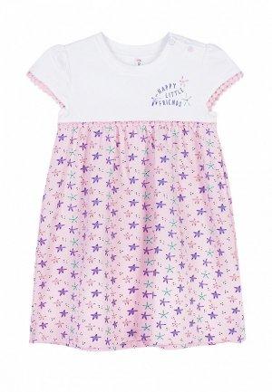 Платье Coccodrillo. Цвет: розовый