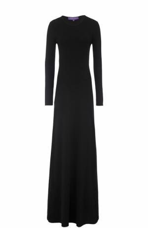 Кашемировое платье Ralph Lauren. Цвет: чёрный
