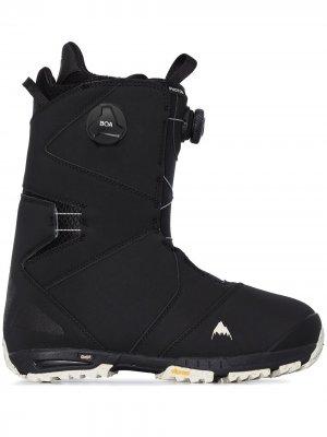 Ботинки для сноуборда Photon Boa Burton AK. Цвет: черный