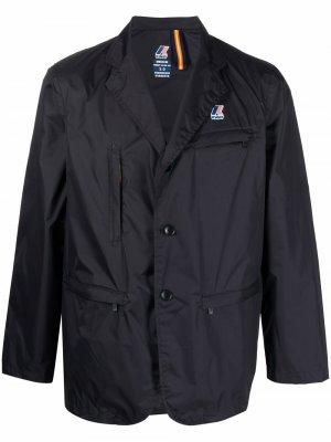 Пиджак с логотипом K-Way R&D. Цвет: черный