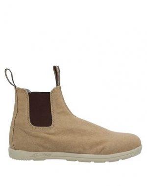 Полусапоги и высокие ботинки BLUNDSTONE. Цвет: верблюжий