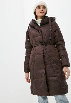Куртка утепленная Dimma. Цвет: коричневый